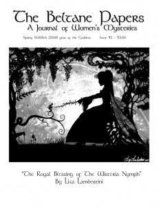The Beltane Papers; A Journal of Women's Mysteries Issue 45 2008